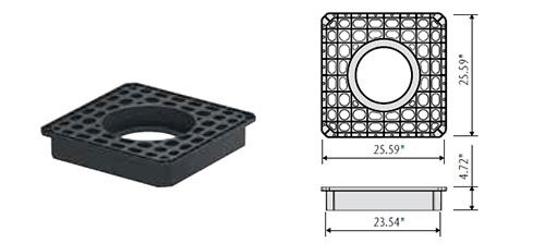 stormbrixx hd remote access plate